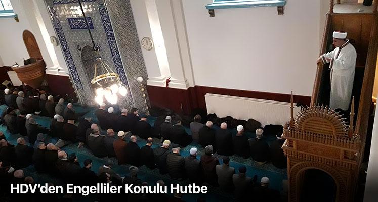 HDV'den Engelliler Konulu Hutbe